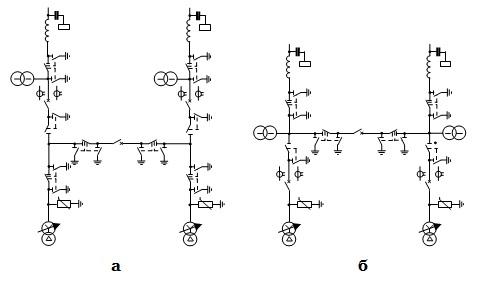 Мостиковые схемы РУ-35 кВ