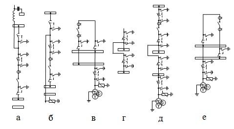 Ячейки схем с системами