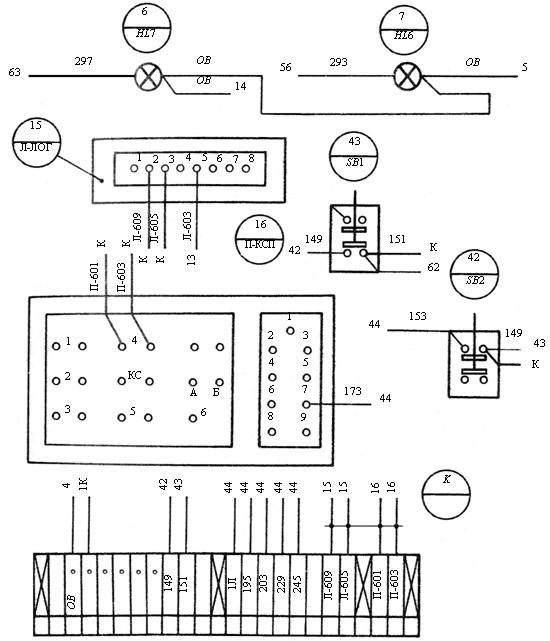 Пример изображения схемы